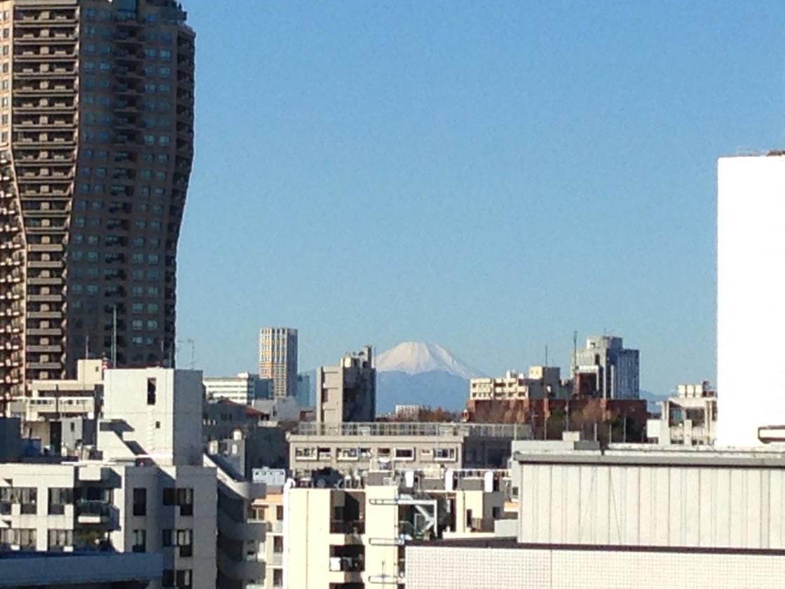 晴天時には室内から富士山が望めます。