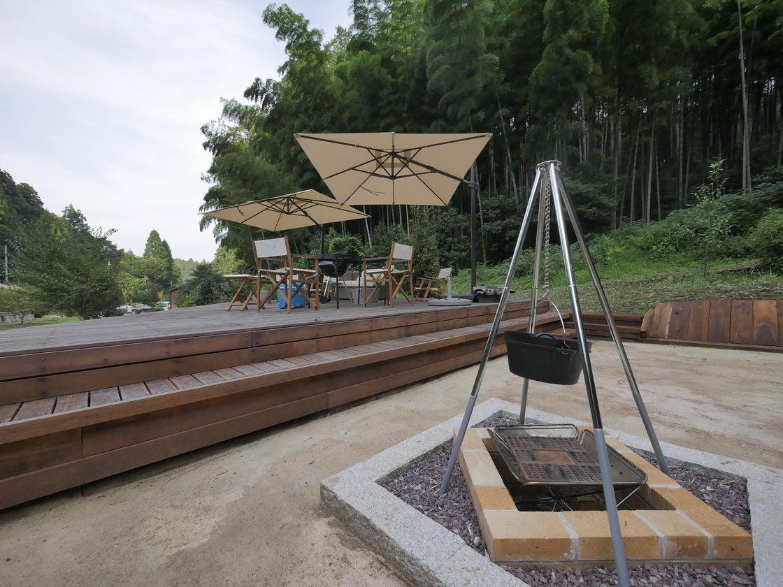 【千葉/九十九里】2000坪の別荘をグランピング場に!BBQ/プール/岩風呂あります のサムネイル