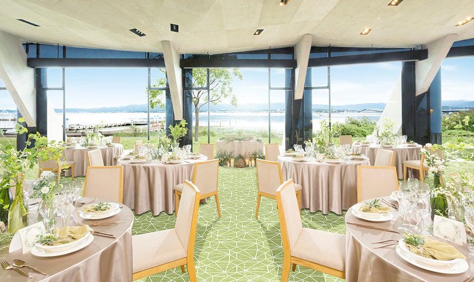 琵琶湖を一望するパーティスペース 展示会・セミナー・パーティーに!(セトレマリーナびわ湖) の写真0