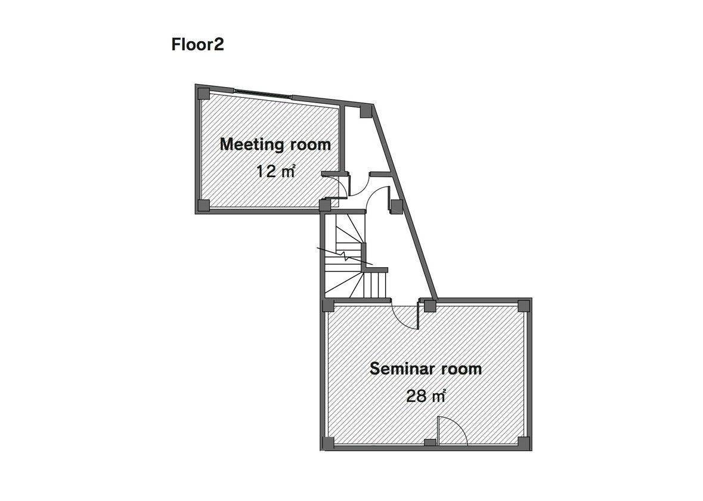 【水道橋/後楽園】徒歩1分。設備が充実したミーティングルーム(セミナー可能) のサムネイル