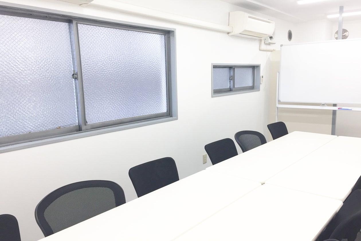 新宿三丁目新宿駅から駅近徒歩3分格安 15人までの少人数で会議 レッスン オフ会などに最適スペース の写真