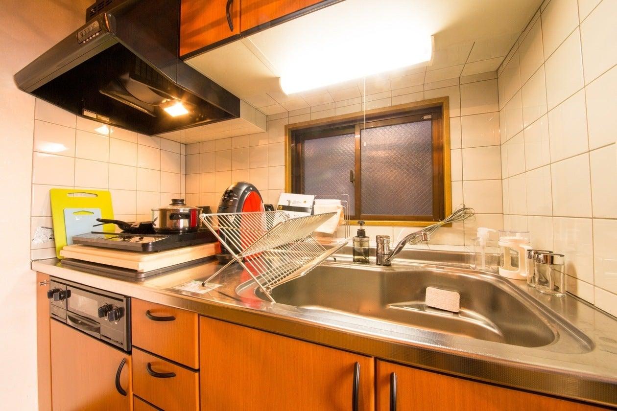 3階キッチン、IH調理器