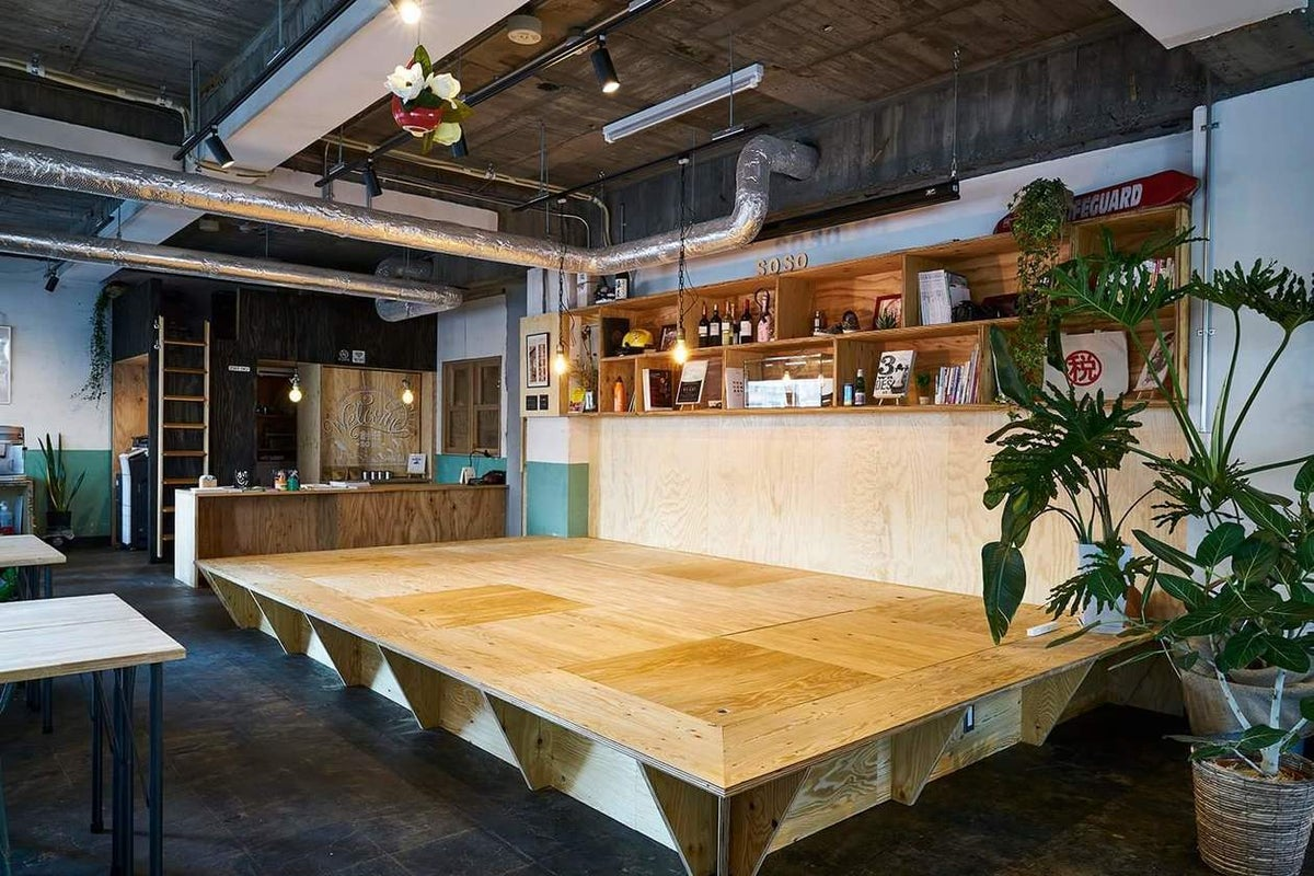 【川崎駅徒歩8分】築54年のビルをリノベーション-掘りごたつのあるノスタルジックなスペース-トークイベント・研修・会議にも対応 の写真
