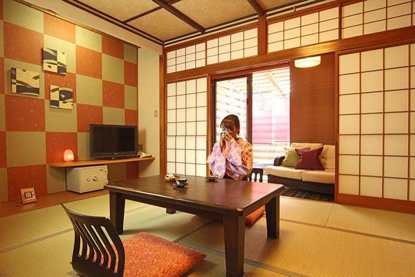 すずらん ー露店風呂付き客室ー 味わいのある空間で写真撮影やロケ撮影などはいかがですか? の写真