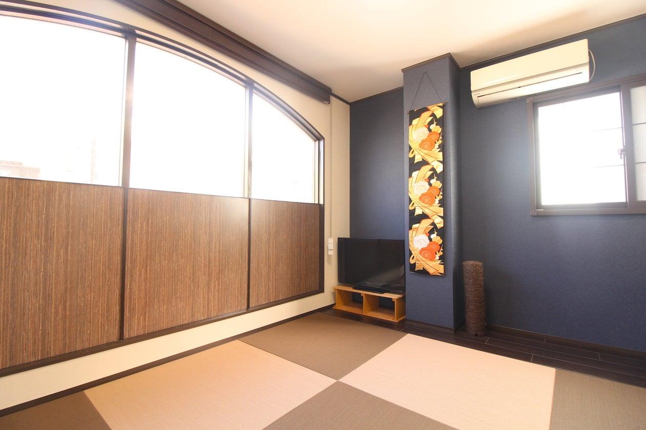 亀有徒歩3分、和モダンレンタルスペース、お昼寝(キッチン・洗濯機・布団3枚) の写真