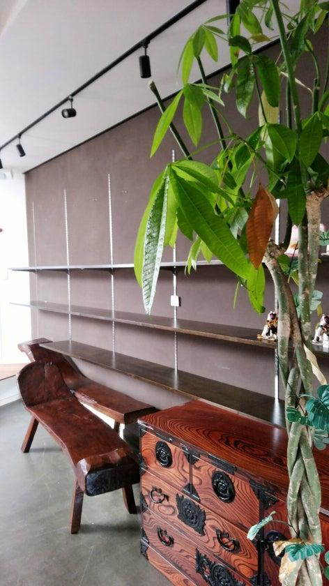 下松市役所近くの川沿いにある「ギャラリーまねきねこや」個展・音楽スタジオ・カフェなどOK の写真