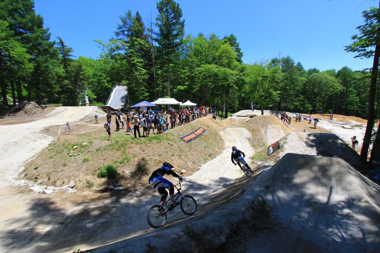 国内唯一のBMX世界基準コース(YBP(Yuta's Bike Park /八ヶ岳バイシクルパーク)) の写真0