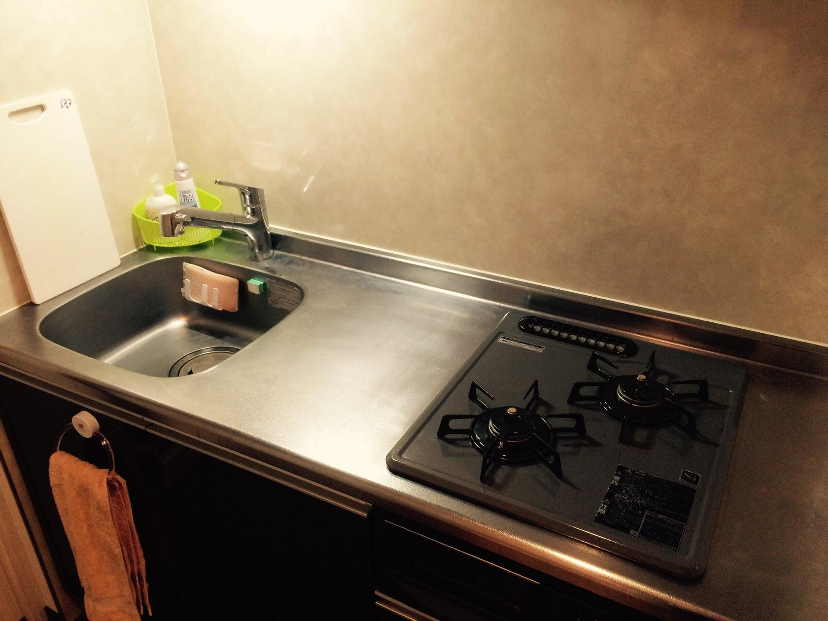 【 西新宿五丁目駅 徒歩6分 】〜ゆったり4名で過ごせる〜  キッチン利用可能・Wi-Fi完備  SNS投稿可! のサムネイル