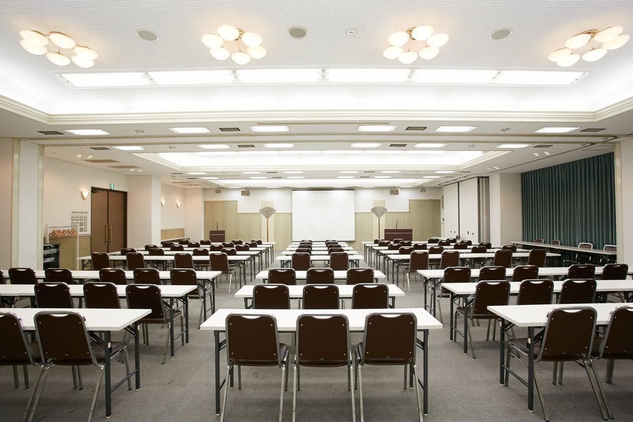 【新大阪駅前】100~150名規模の研修・セミナーに。天井高3mでゆったり余裕感あるホテル会場【200AB/200BC】(CORONA HOTEL(大阪コロナホテル)) の写真0
