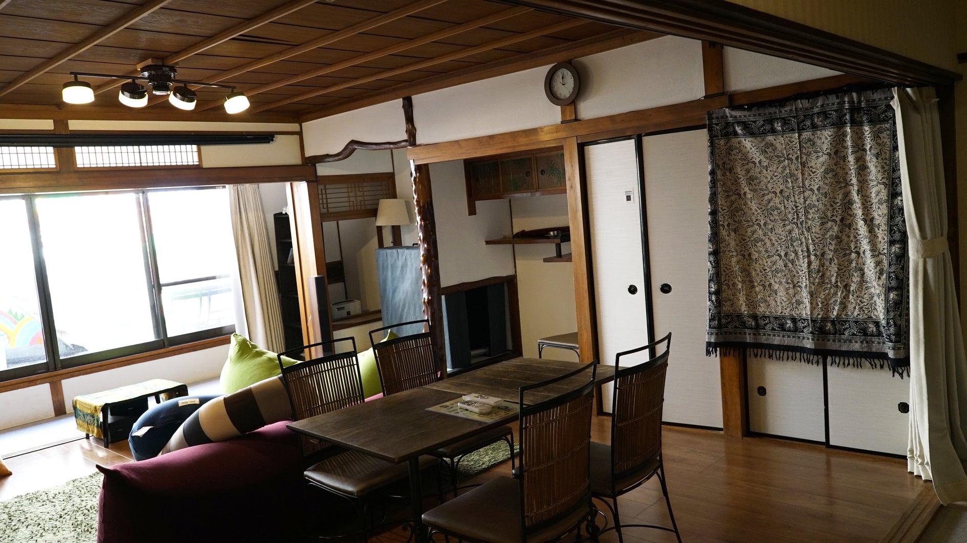 天王寺近く和風モダン 広々一軒家まるごと使ってハウスパーティ のサムネイル