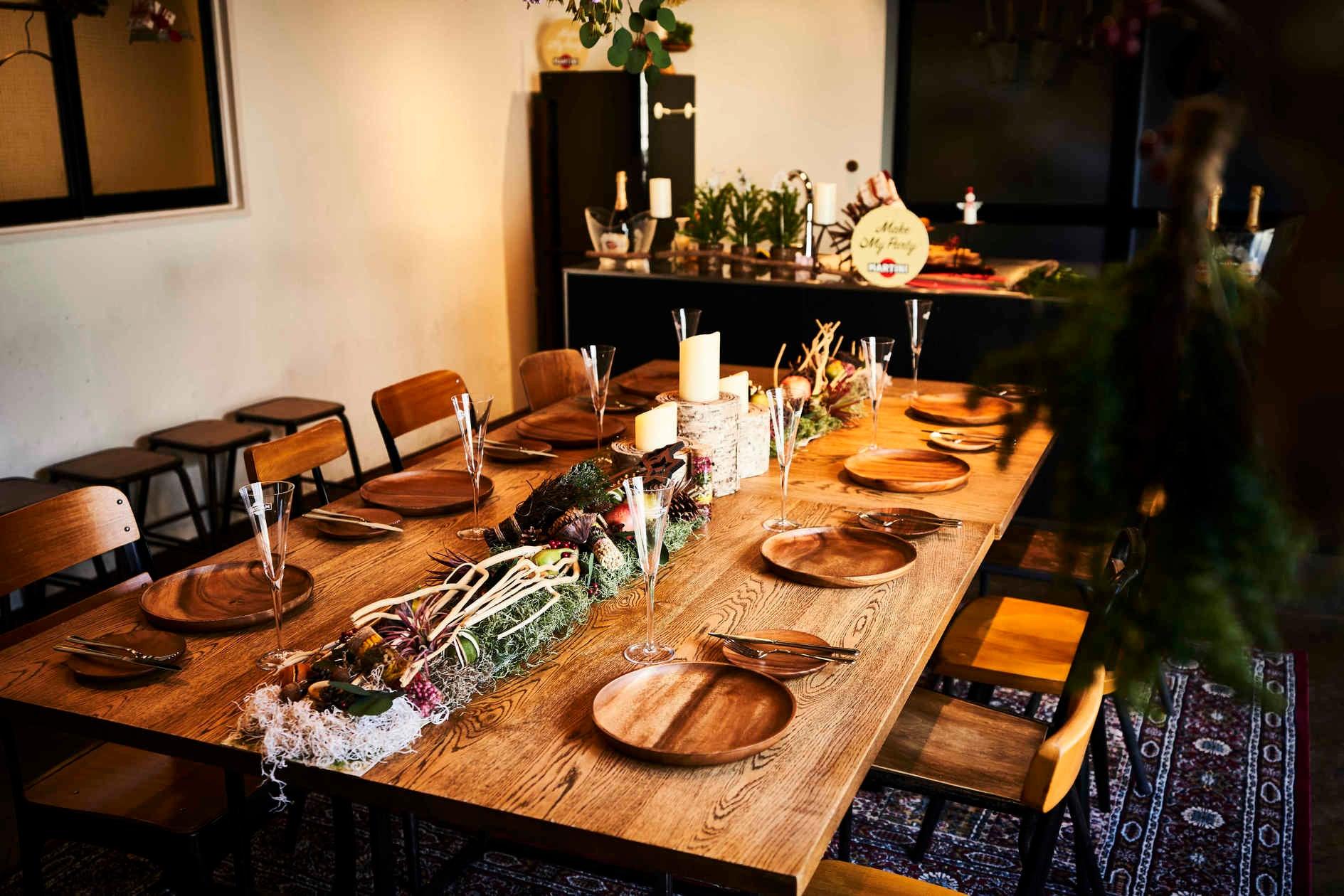 自分たちで料理ができる!キッチン付きのレンタルスペース!出張シェフのご案内も可能 の写真