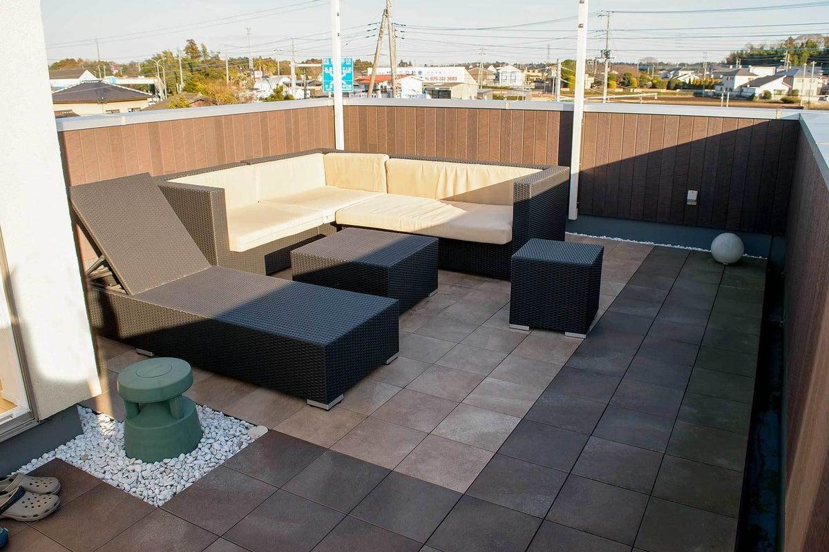 屋上で露天風呂やバーカウンターなどパーティーや撮影に!茨城県水戸市 の写真