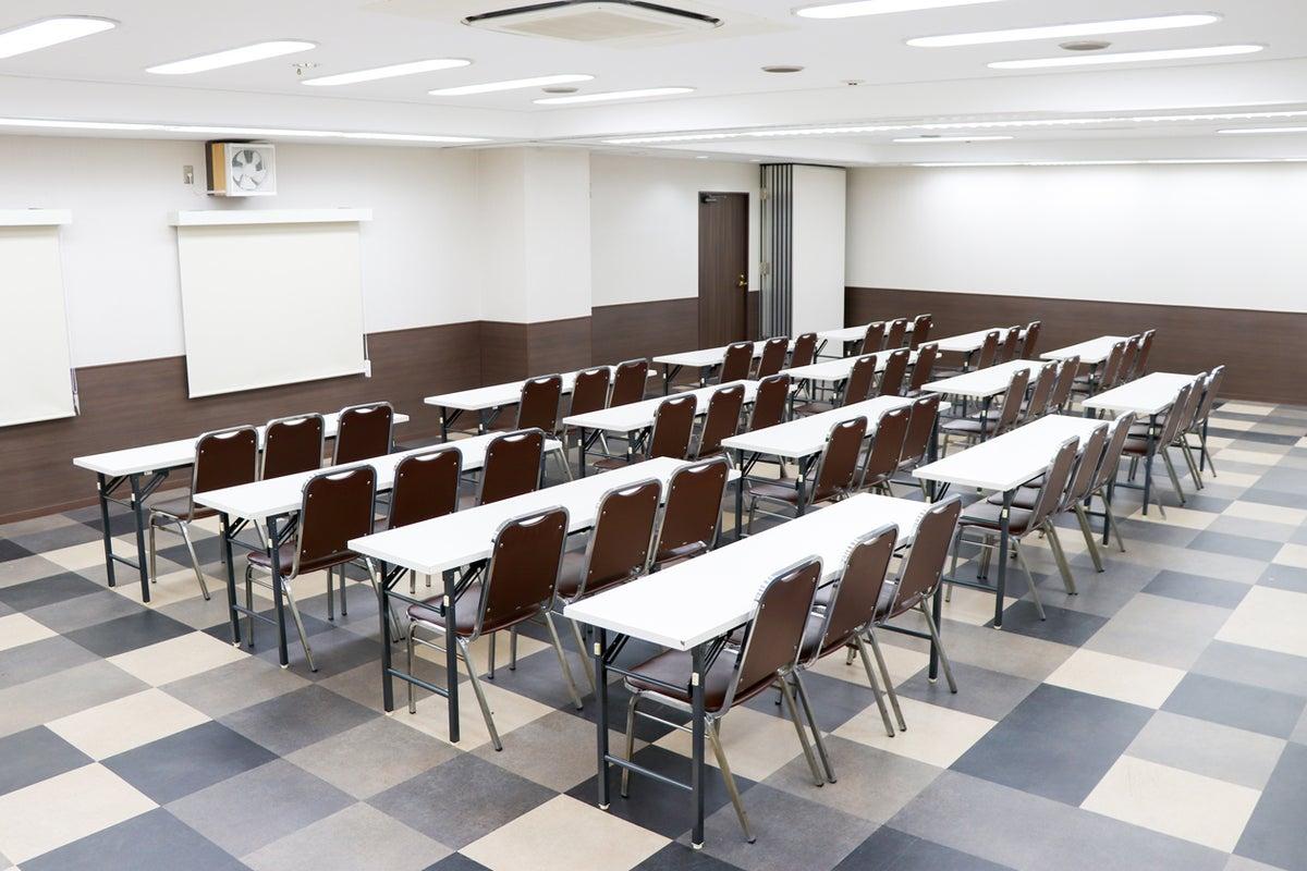 【新大阪駅前】50~70名のセミナー利用にピッタリ◎事務局様も安心なホテル会議室【215】 の写真