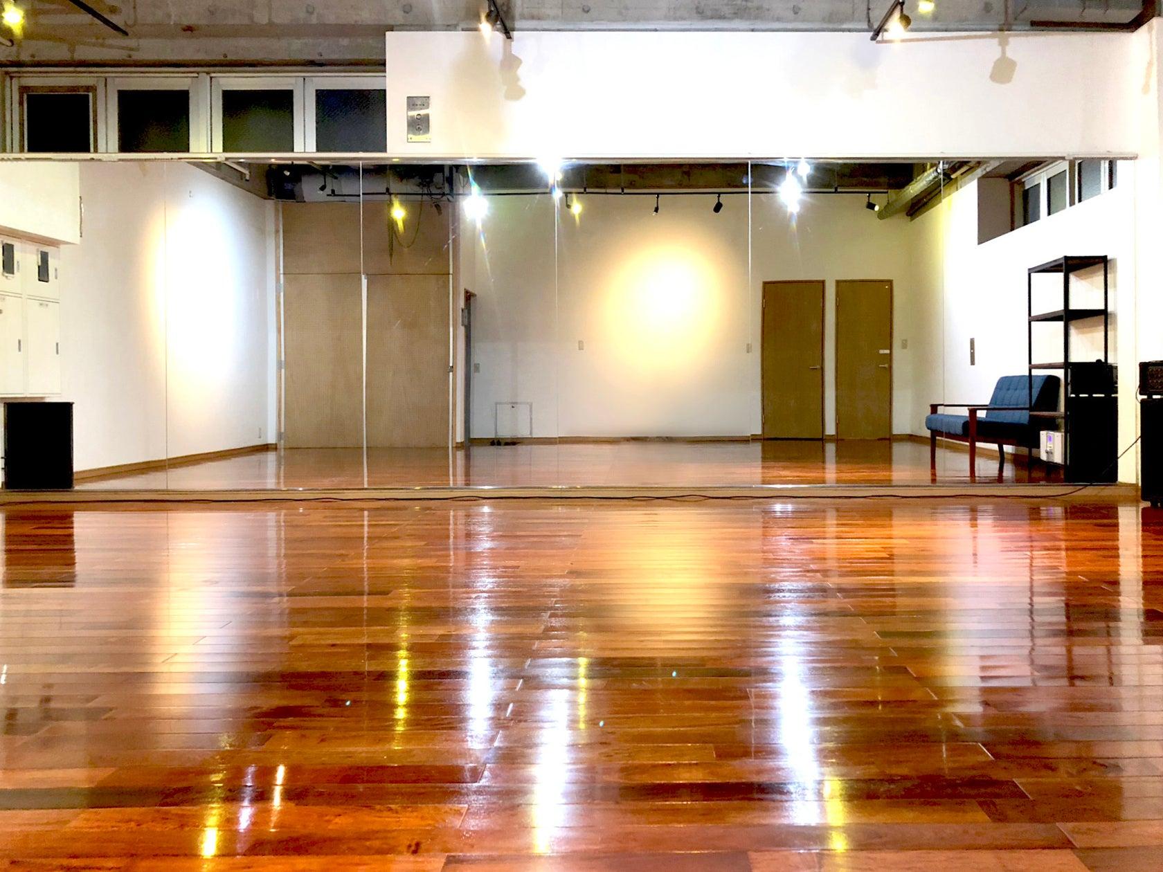 ゆったり広いスタジオ