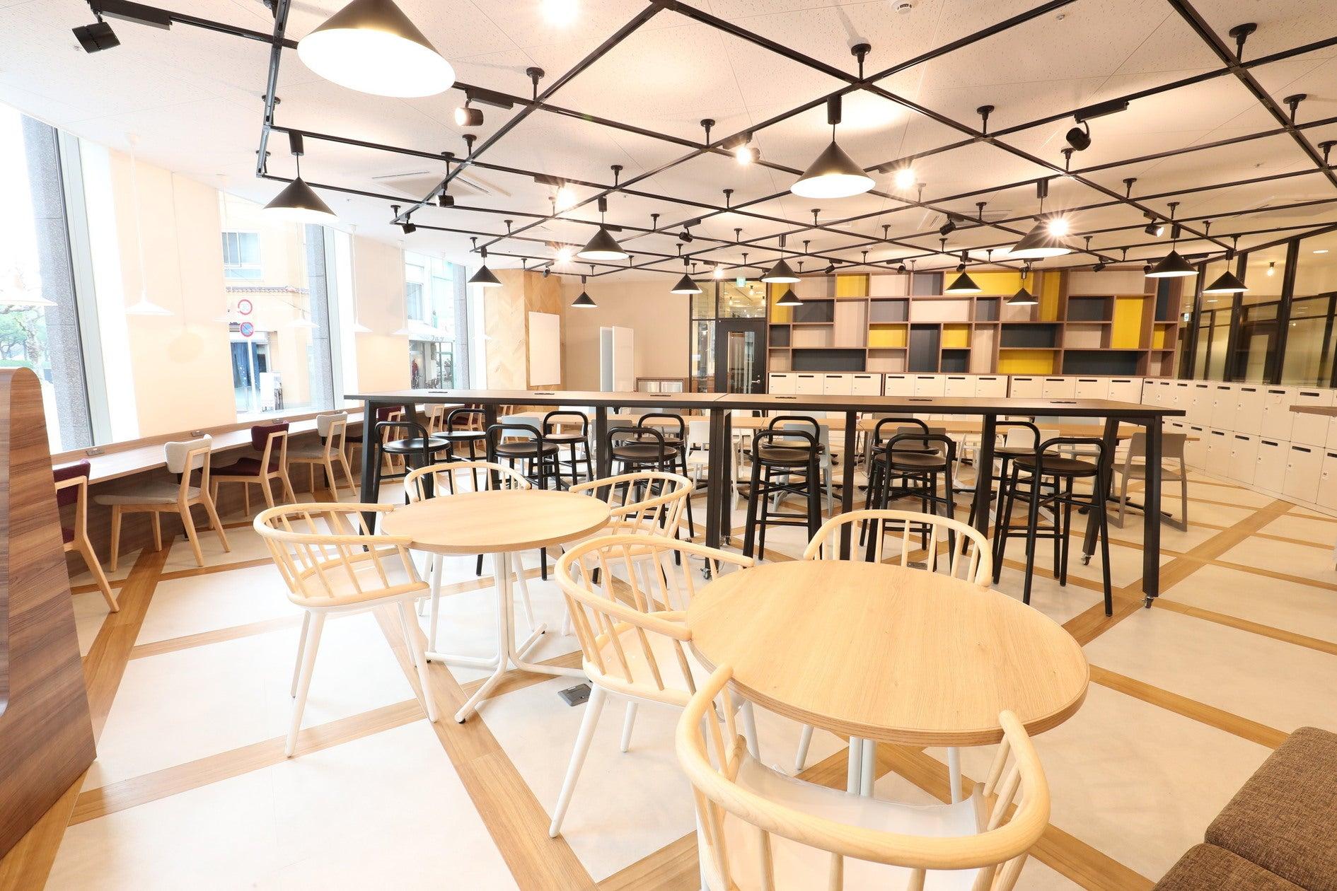 【広島駅徒歩5分】2017年オープン!明るく開放的なスペースで、セミナーや説明会、各種イベントにご利用いただけます! の写真