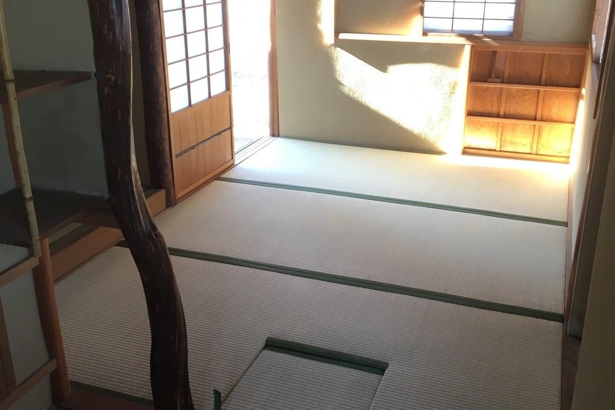 独立した茶室。駅近なのに静かな環境。お教室やお茶会にどうぞ! の写真