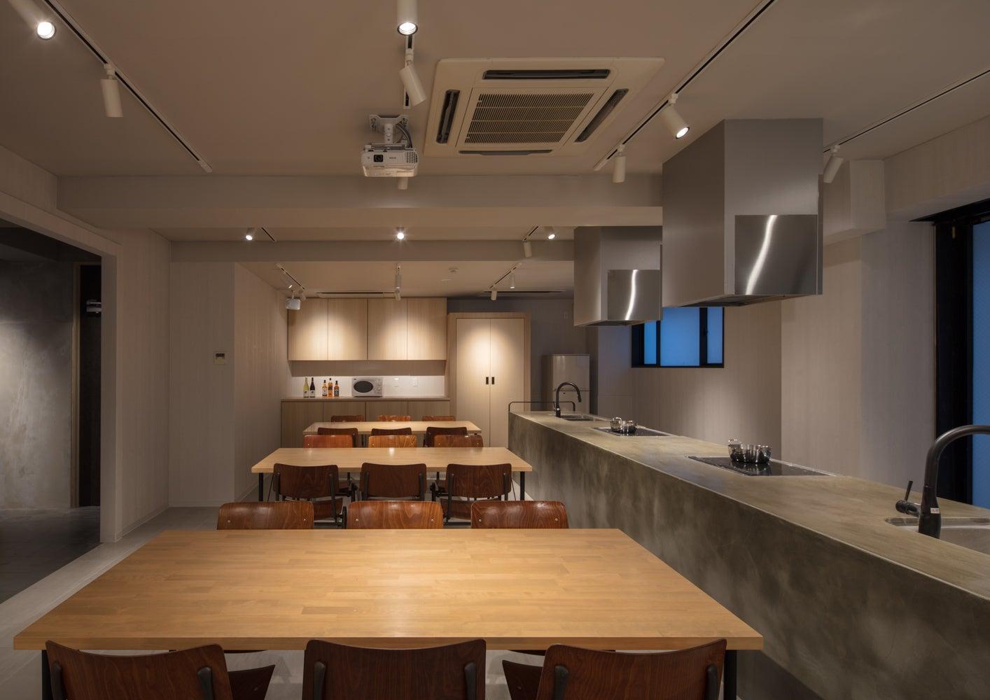 【近江町市場から徒歩2分】パーティー利用や料理教室利用に。 広々シェアキッチンスペース(Emblem Stay Kanazawa シェアキッチン) の写真0