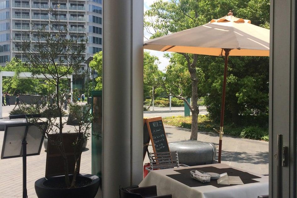 二子玉川 オープンテラス カフェ ALLO  の写真
