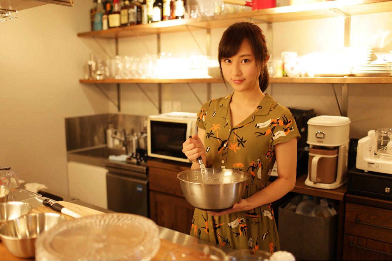 充実した調理器具でケーキ作りも楽しめもす。