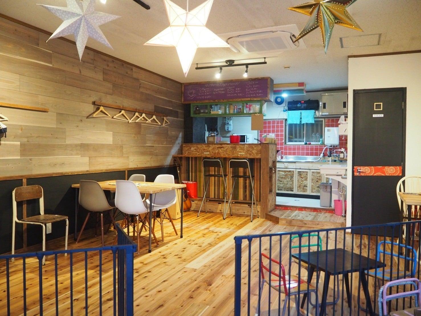【大阪・玉造 上本町から徒歩10分】お洒落なカフェスペース。格安でママ会やイベント開催が可能!子連れにやさしい作りになってます!(baila) の写真0