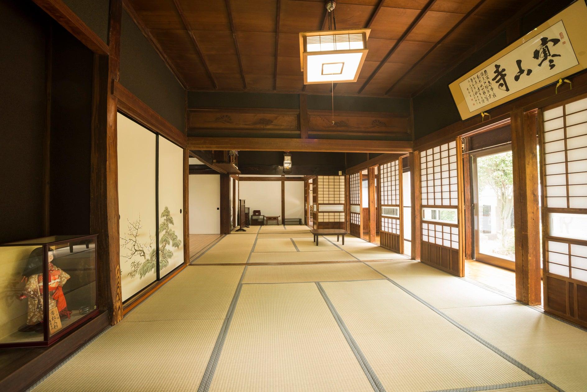 古民家冨田邸、都内で珍しい由緒ある古い建物です。