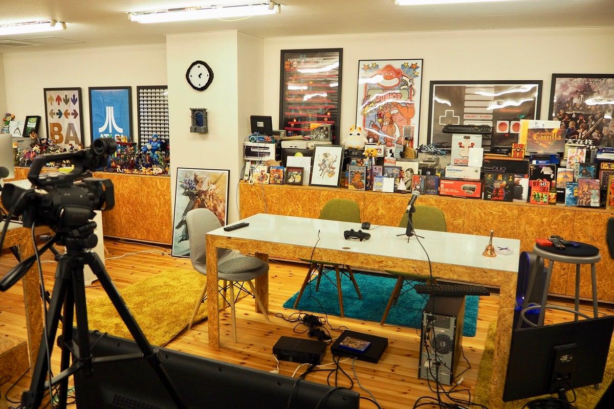 【 三田駅 徒歩5分 】〜360°エンタメが包囲〜ゲーム実況メディアスタジオ!! 撮影や会議に!懐かしのゲームグッズ天国! の写真