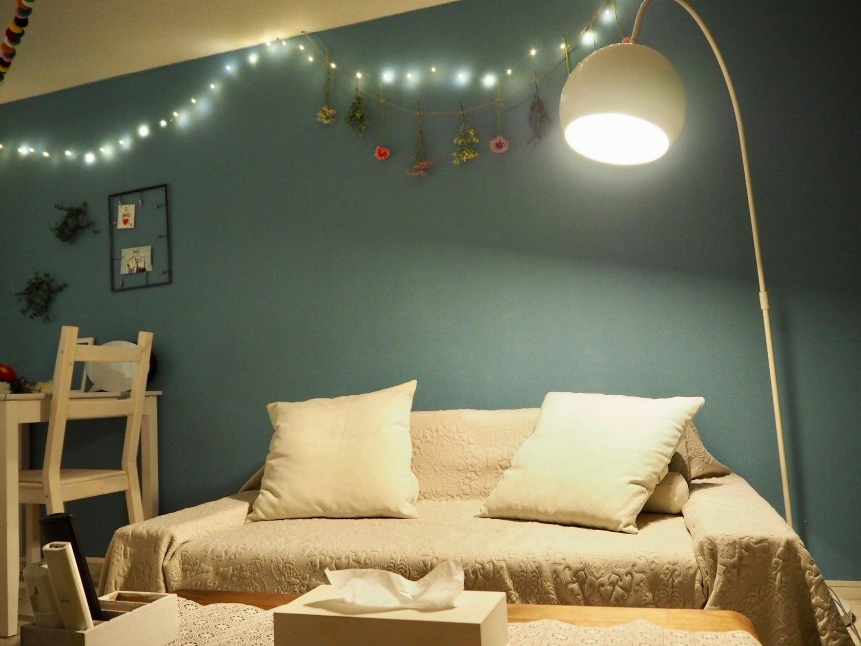メインの照明を落として、電飾とスポットライトのみにすれば、全く違う雰囲気に★