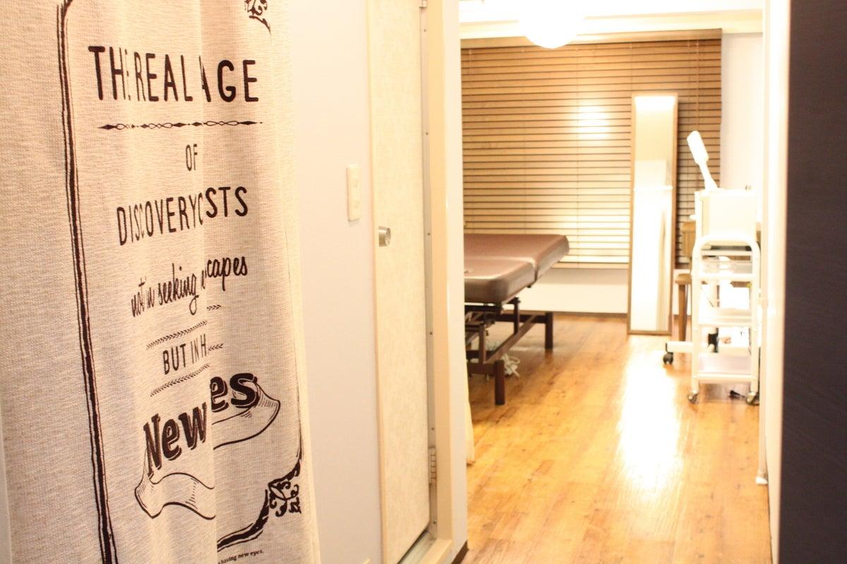 キャビ・ファイシャルなど業務用エステマシンの利用も。ShareSalonBP新宿1号店 の写真