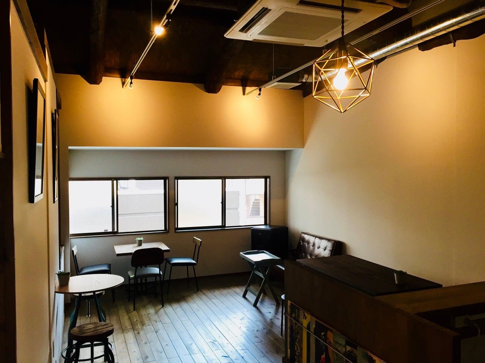 【みのしま商店街】カフェ空間を貸切。撮影やパーティ、イベント、会議、各種教室などご利用可能な多目的空間です。(ANGELICA Coffee Stand) の写真0