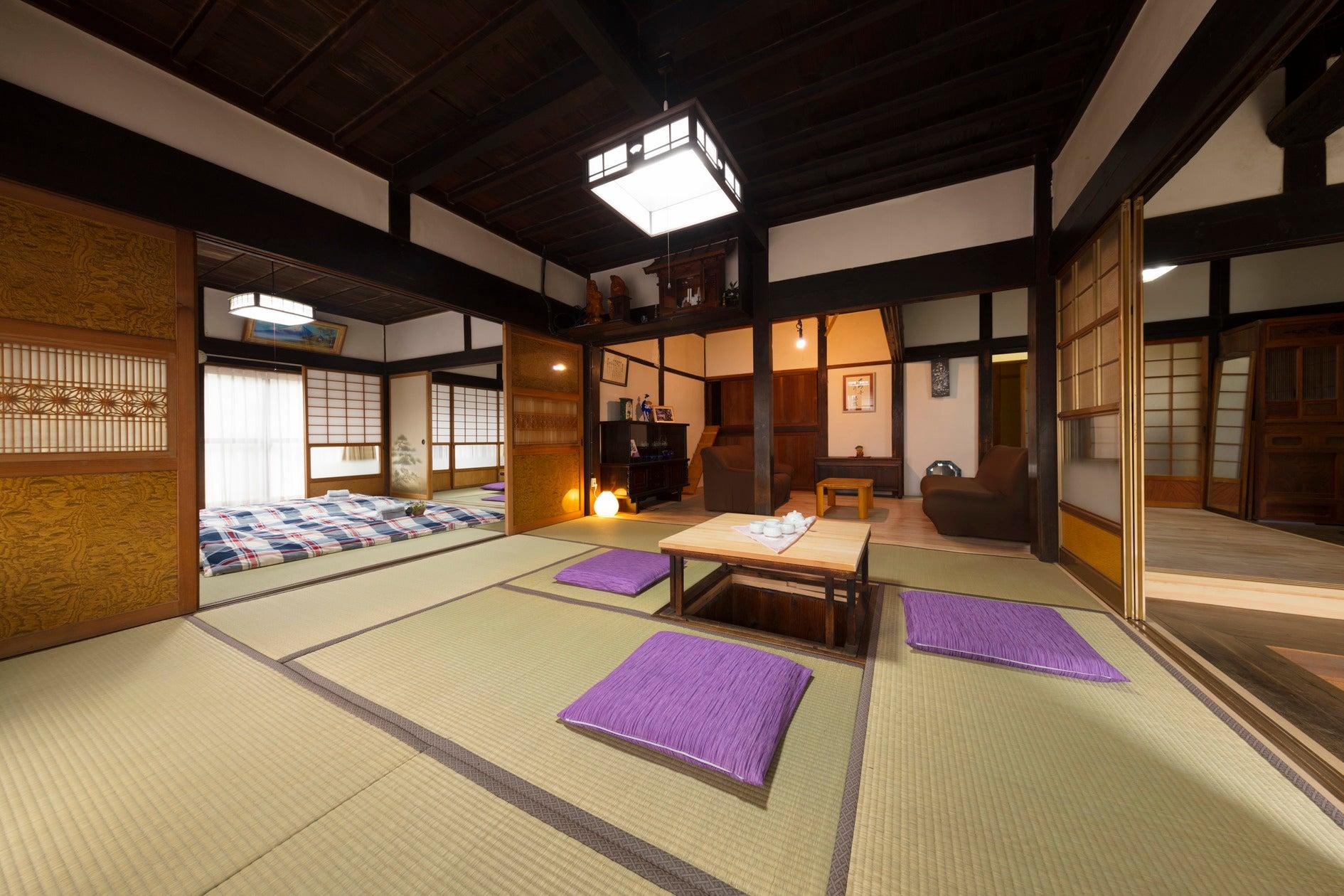 【塙ハウス】東京から1時間弱の築130年古民家と米倉、合宿やコンサート、イベント、企業研修に最適 の写真