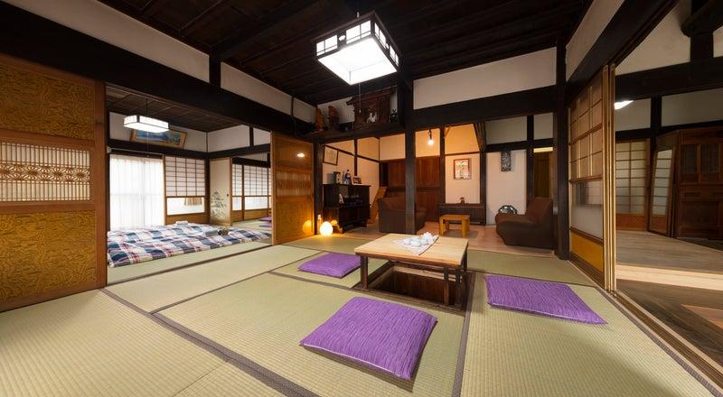 【塙ハウス】東京から1時間弱の築130年古民家と米倉、合宿やイベント、企業研修に最適