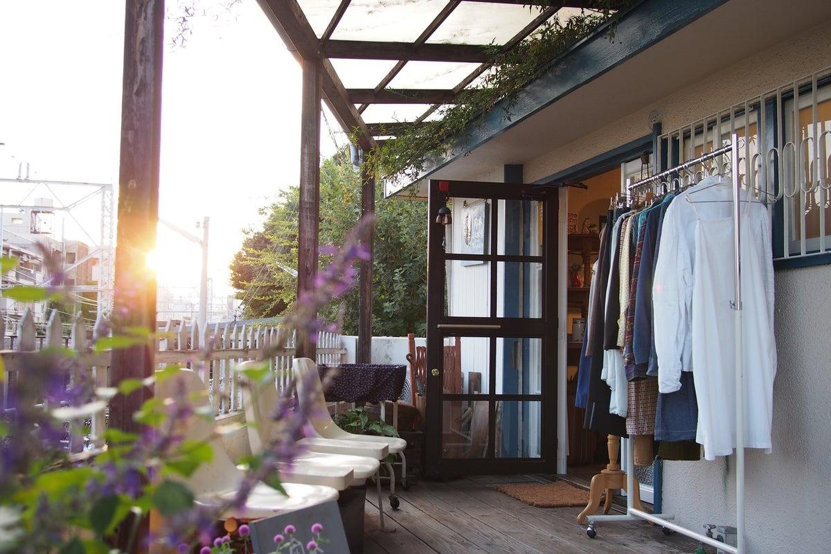 岡本駅目の前★カフェ&ヴィンテージショップをレンタル の写真