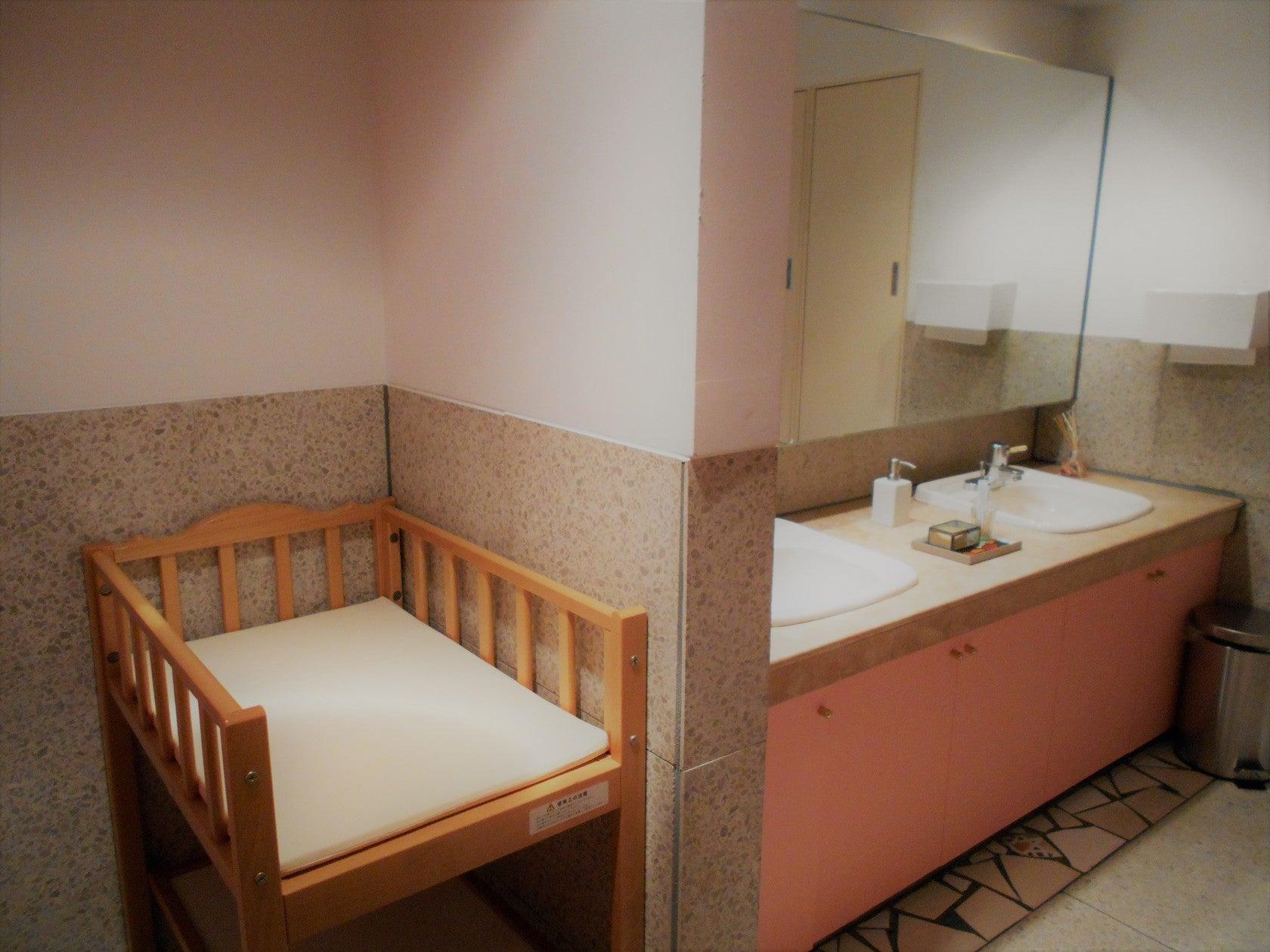 トイレにはおむつ替え台を完備しています。
