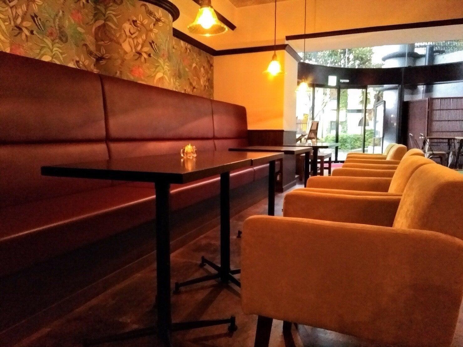 イベントの前後にカフェスペースでくつろいで頂けます。