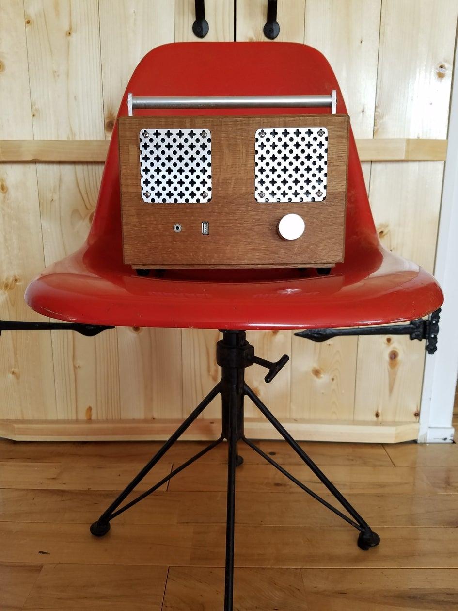 Bluetooth speaker by shibuyscraftronics