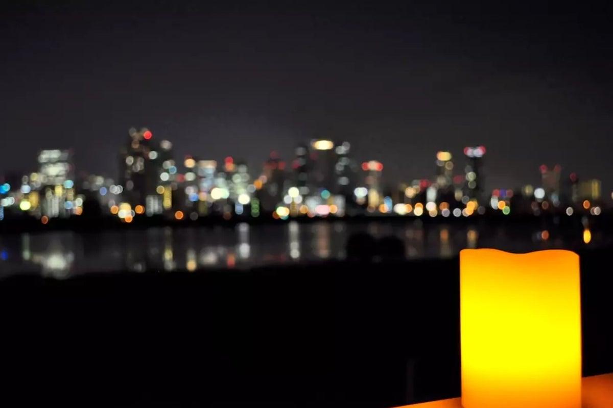 夜景が最高!OpenSale50%OFF!キッチン充実! 淀川に映る梅田の町並み【十三駅徒歩5分】~8名/24h の写真