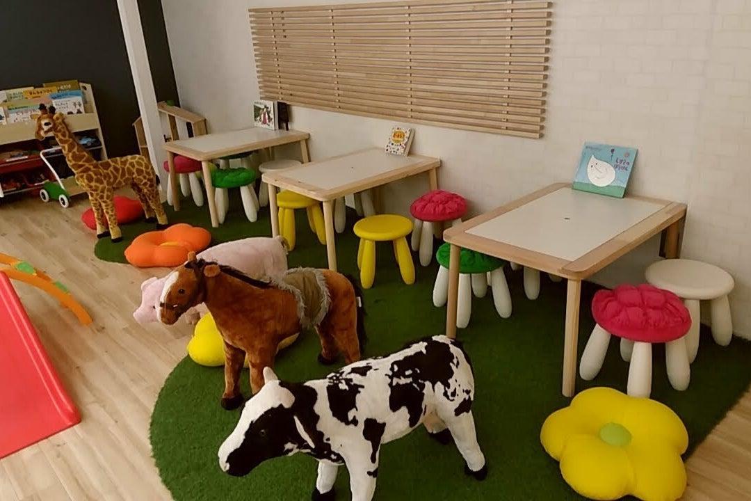 子供が大興奮出来るインスタ映え間違いなしのイベントスペース&カフェ の写真