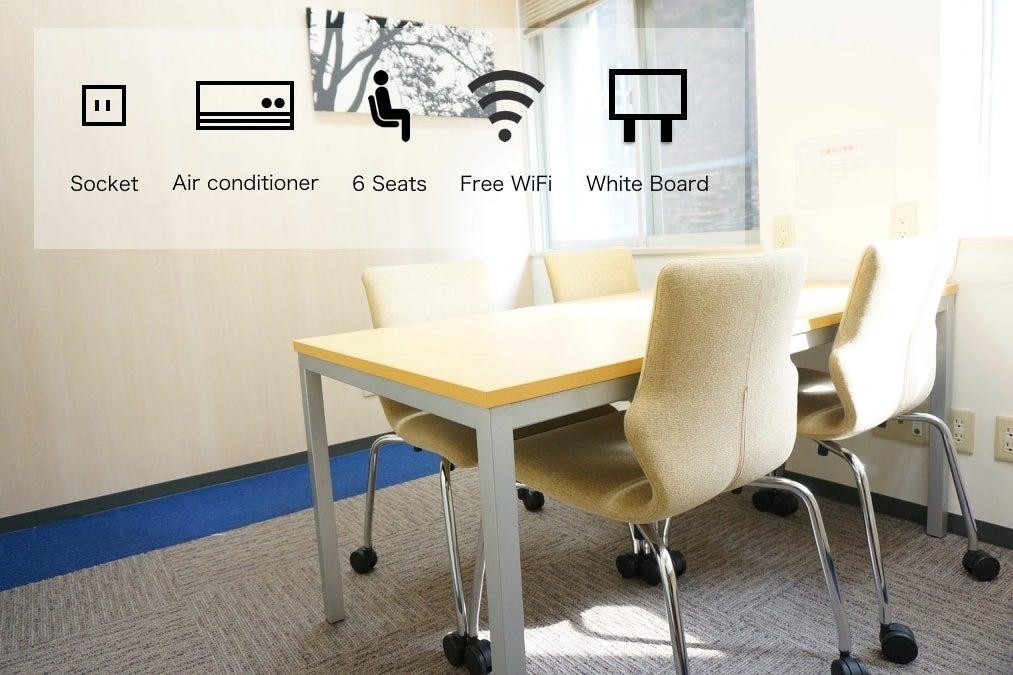 <JWS兜町6名会議室>【日本橋駅徒歩3分】WIFI・ホワイトボード無料♪ の写真