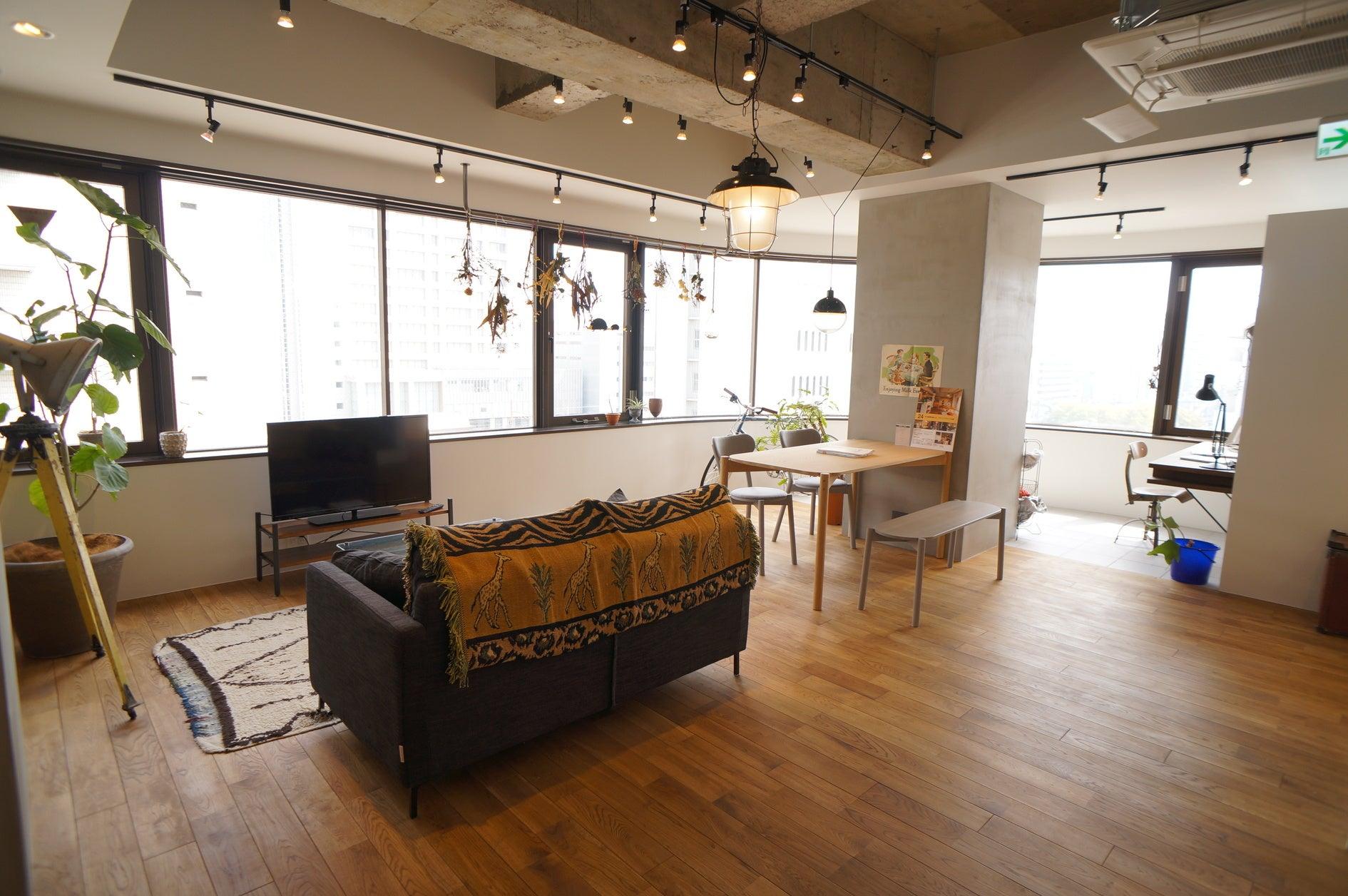 【桜木町1分】【マンションでのロケや撮影に】控室に使える個室あり。210㎡のおしゃれなリノベーション空間-リノベる。桜木町 の写真