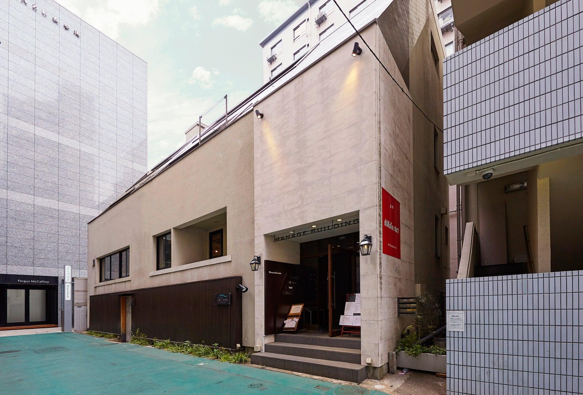 青山通りから50メートル程度少しだけ入った静かな好立地の2階です。