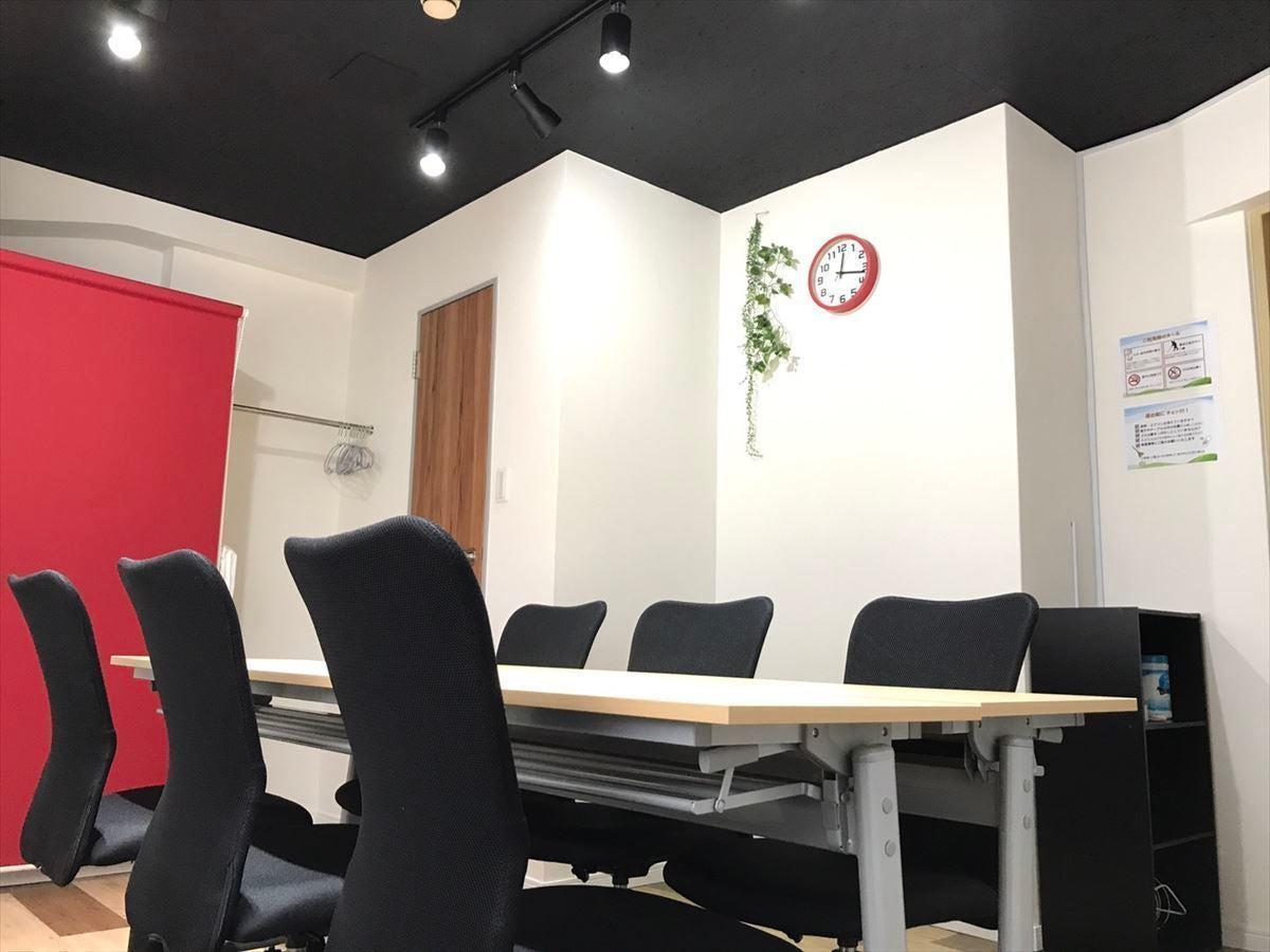 【Shinbashi2組】新橋駅から徒歩30秒 完全個室の格安会議室