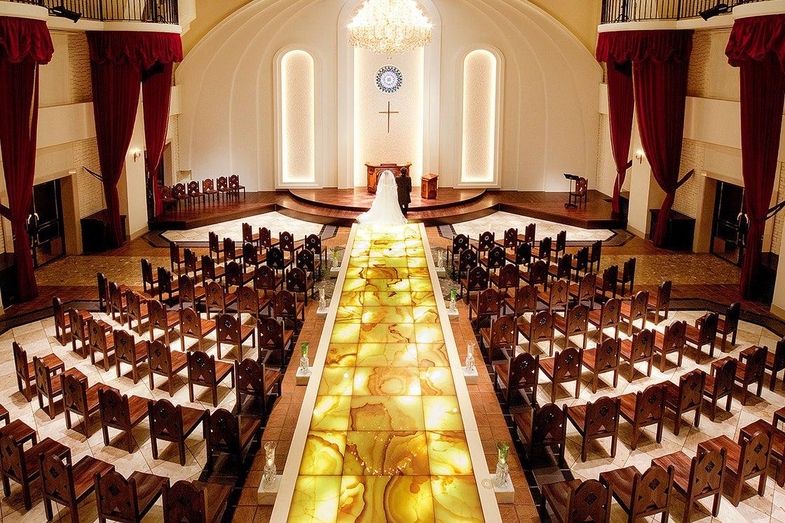 【千葉】チャペル ドゥ オペラ 光のバージンロード独立型教会 の写真