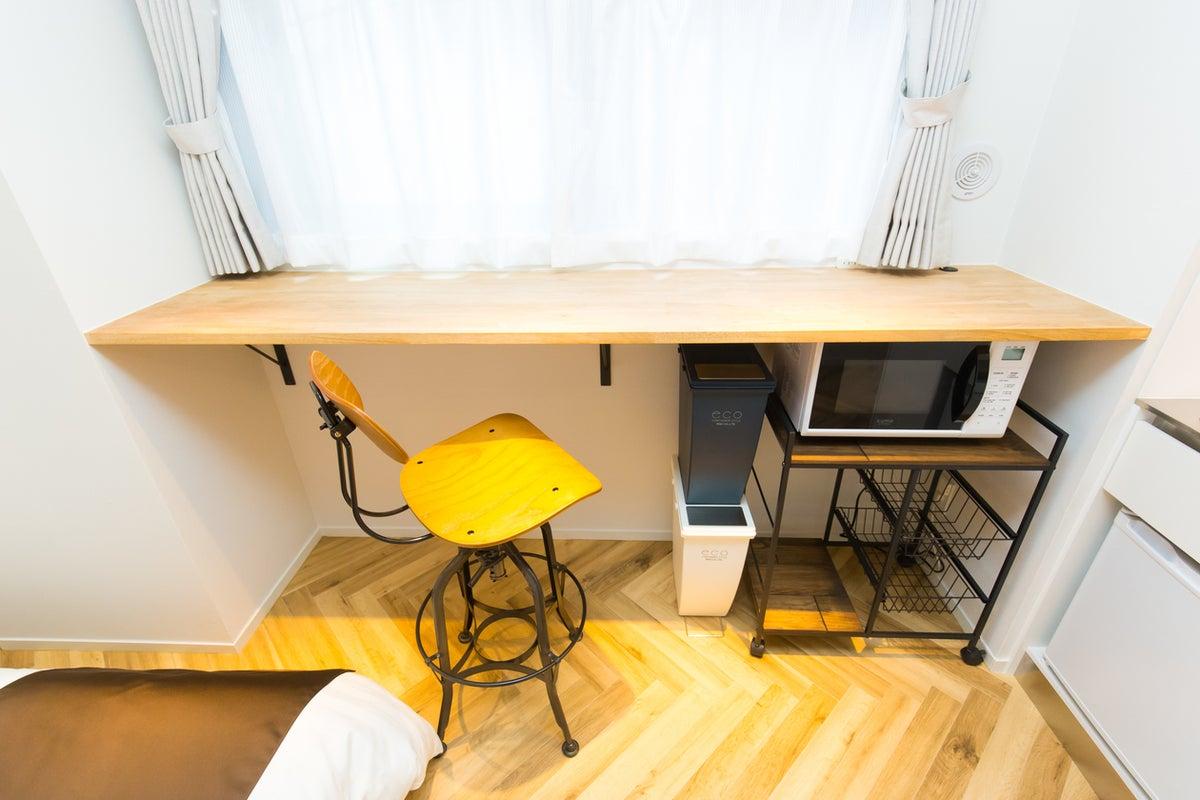 麻布十番駅徒歩1分/個室オフィス・勉強部屋・休憩所/マンションワンルーム の写真