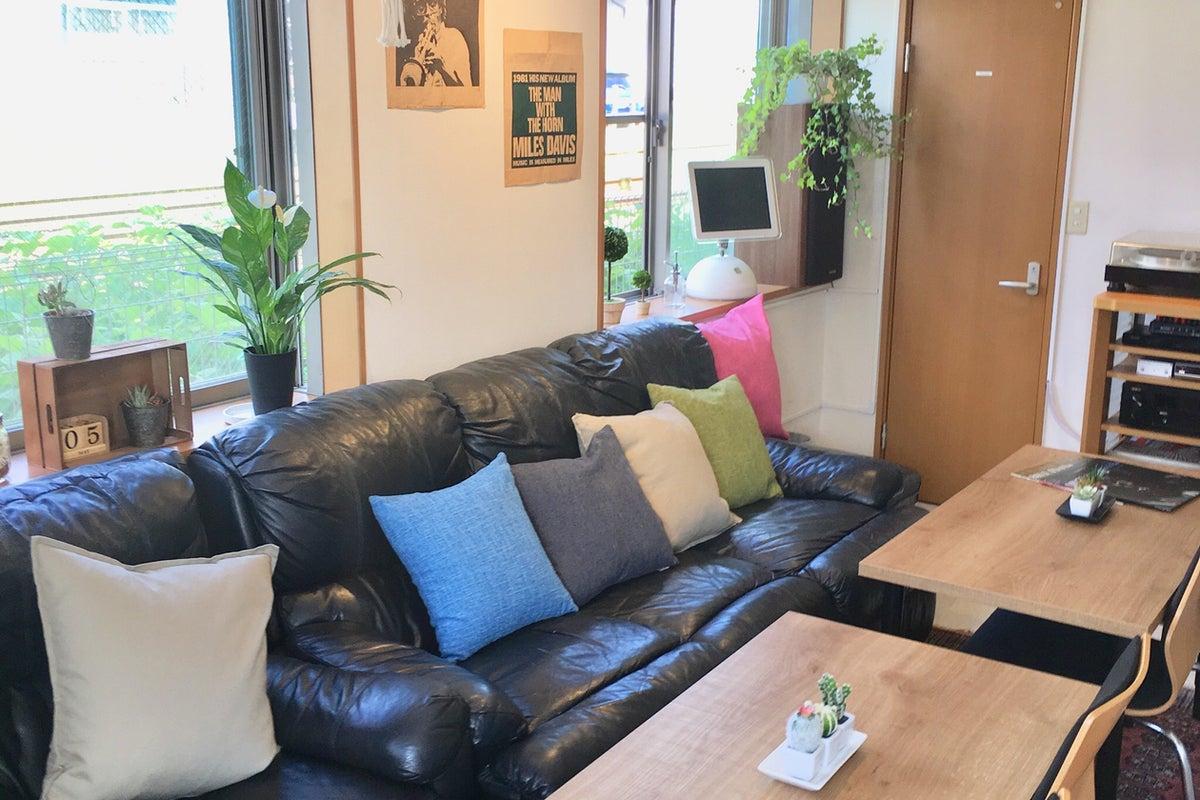 【 駅 0分!自然光でほっこり】JAZZ好き愛妻家のうちカフェ!キッチン•55型TV•AVシステム•ホムパ•DVD•撮影•ボドゲ の写真