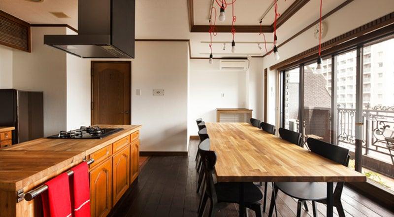 Love Story Kitchen(敷地内に足を踏み入れるだけでテンションの上がるビンテージマンション 元超有名芸能人の部屋)