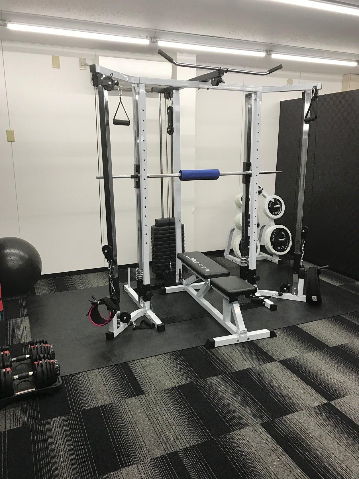 レンタル個室ジムで、集中してトレーニング!複数人利用も可能!(レンタル個室ジム!完全個室で集中してトレーニング) の写真0