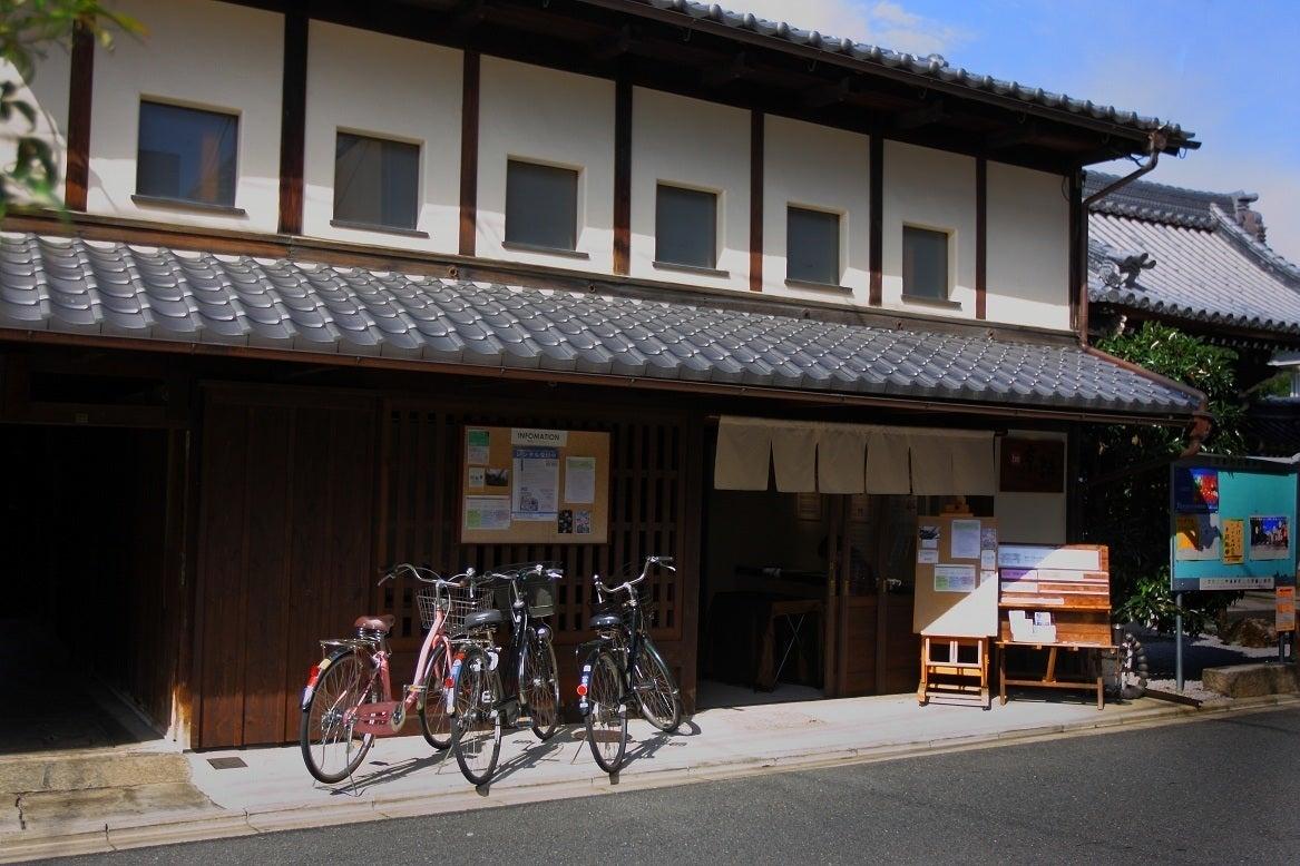 京間和室16畳。坪庭が美しい築200年の大型京町家ギャラリー「be京都」。イベント、講座、撮影などに!京都御所、同志社大近く。 の写真