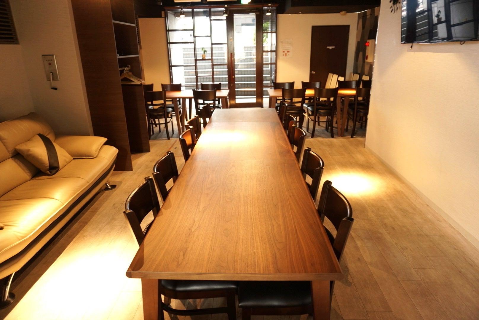 【直前割20%引き】fika新宿御苑 本格キッチン設備の付いた「キッチン付きレンタルスペース」 パーティー・会議・セミナーに の写真