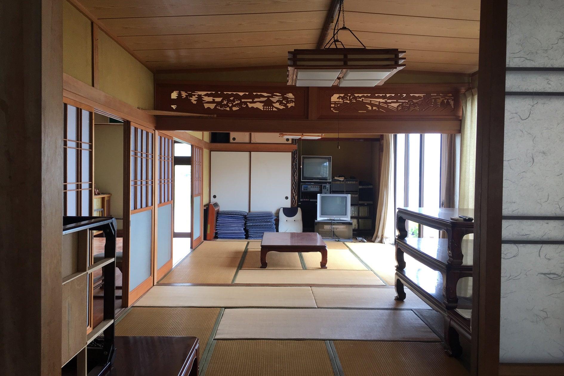 民宿としての設備があり、各種の集まりに利用できます。釣舟などの予約も受け付けができます。(民宿かまがり) の写真0