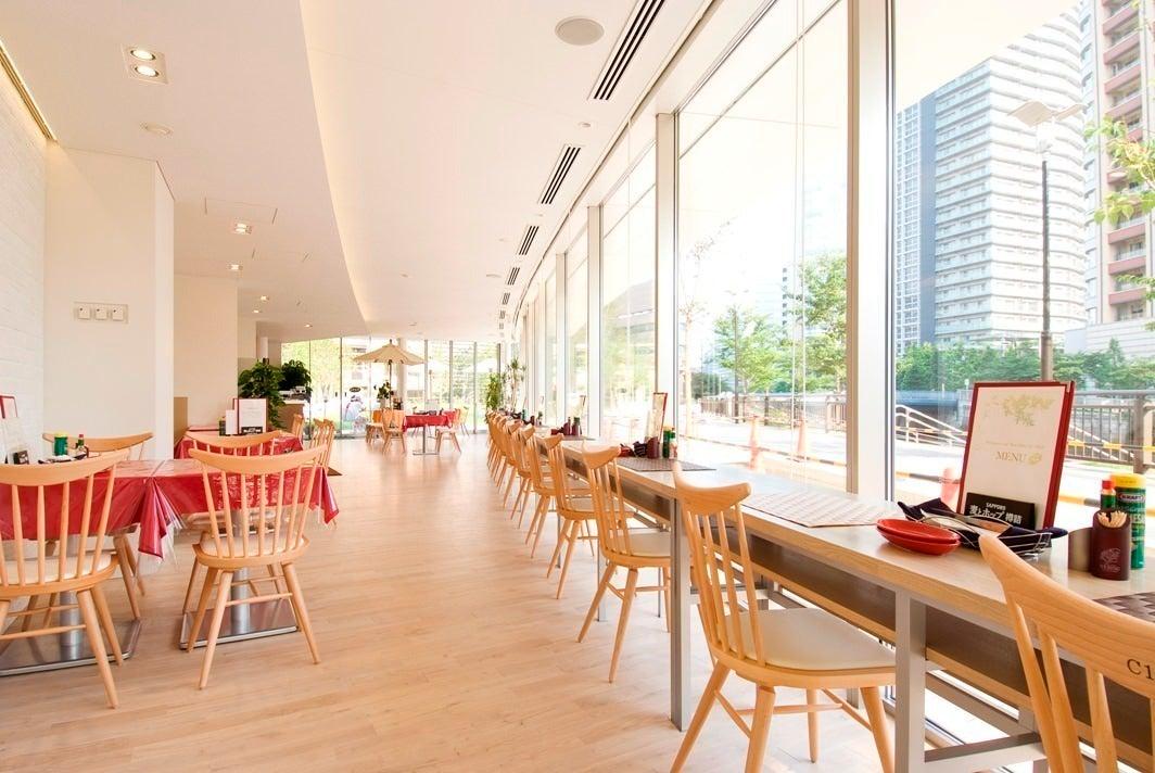 【五反田駅4分】目黒川沿いの素敵なロケーション。ガラス張りのダイニングレストラン。
